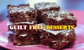 guilt free dessert