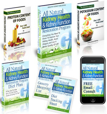 all natural kidney health and kidney function restoration system - all natural kidney
