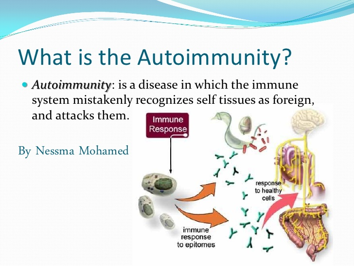 autoimmune disease Autoimmune disease [aw″to-ĭ-mun´] disease associated with the production of antibodies directed against one's own.