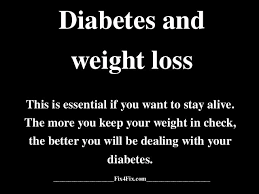 CURE DIABETES WITH WEIGHT LOSS - diabetes and weight loss