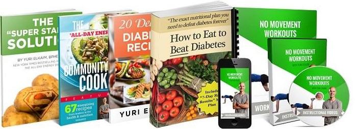 DEFEATING DIABETES KITS BY YURI ELKAIM